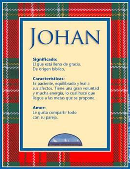 Nombre Johan