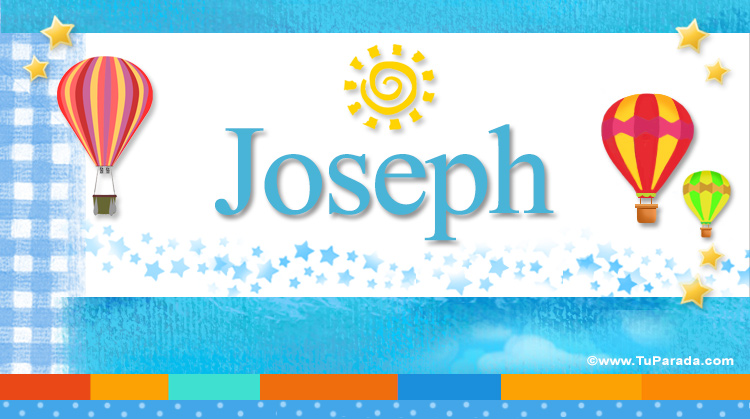 Joseph, imagen de Joseph
