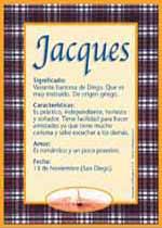 Nombre Jacques