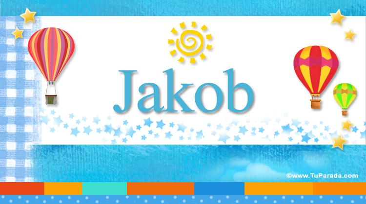 Jakob, imagen de Jakob