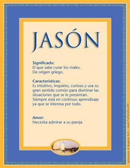 Nombre Jasón