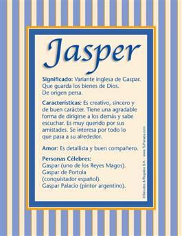 Nombre Jasper