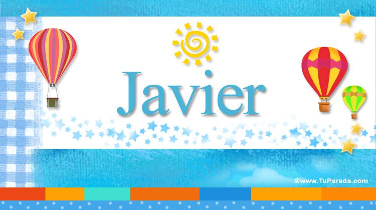 Javier, imagen de Javier