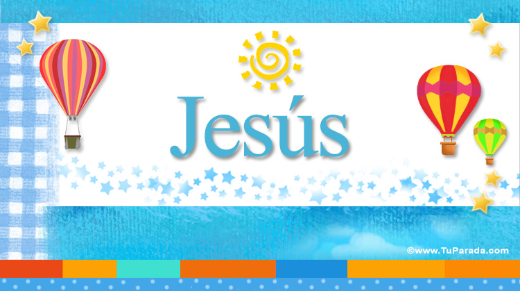Jesús, imagen de Jesús