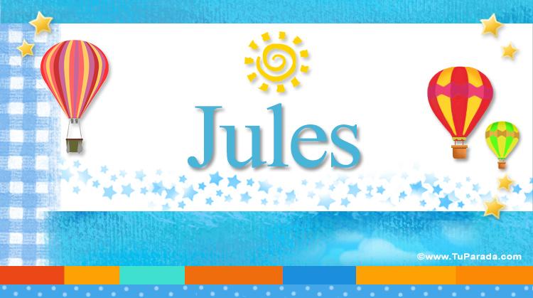 Jules, imagen de Jules