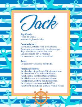 Nombre Jack