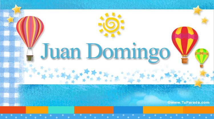 Juan Domingo, imagen de Juan Domingo