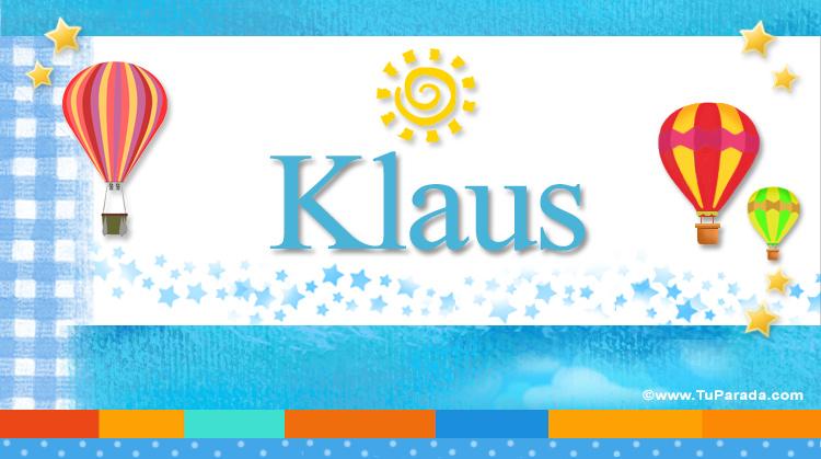 Klaus, imagen de Klaus