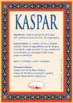 Nombre Kaspar