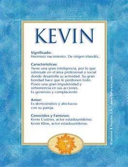 Nombre Kevin