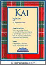Nombre Kai