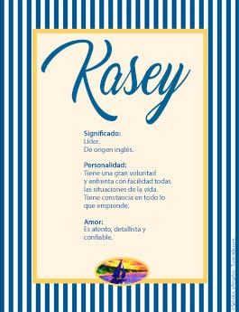 Nombre Kasey