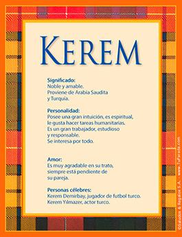 Nombre Kerem