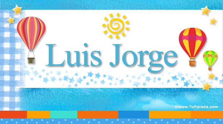Luis Jorge, imagen de Luis Jorge