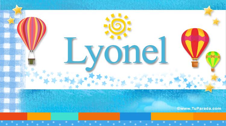 Lyonel, imagen de Lyonel
