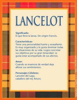 Nombre Lancelot