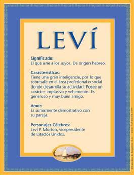 Nombre Levi