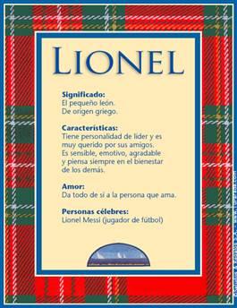 Nombre Lionel