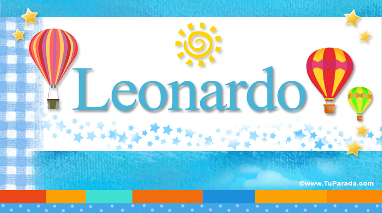 Leonardo, imagen de Leonardo