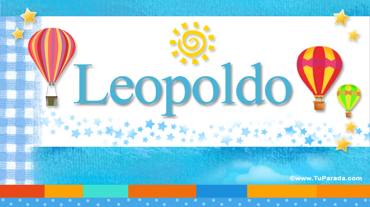 Leopoldo, imagen de Leopoldo