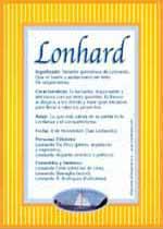 Nombre Lonhard