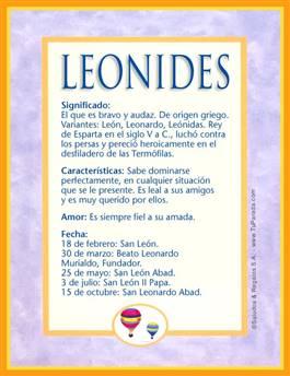 Nombre Leonides