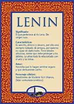 Nombre Lenin