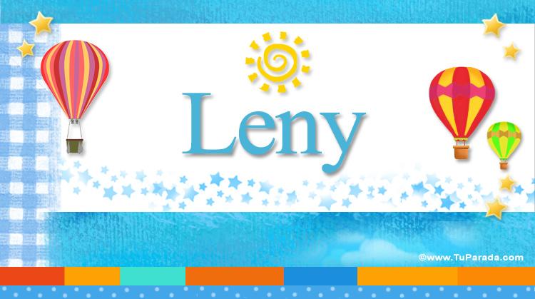 Leny, imagen de Leny