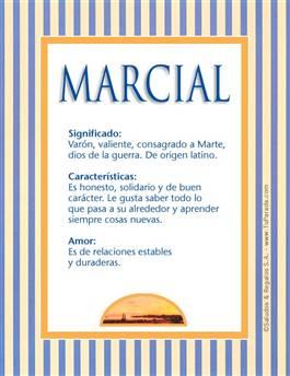 Nombre Marcial