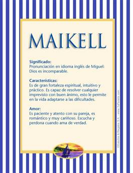 Nombre Maikell