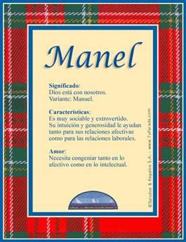 Nombre Manel