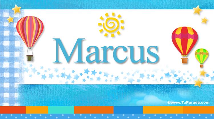 Marcus, imagen de Marcus