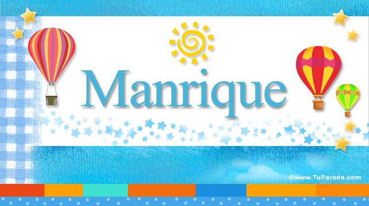 Manrique, imagen de Manrique
