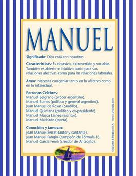 Nombre Manuel