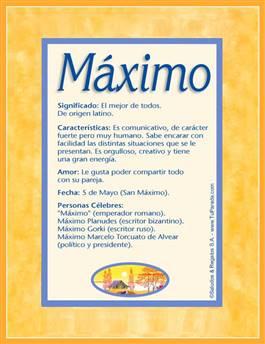 Nombre Máximo