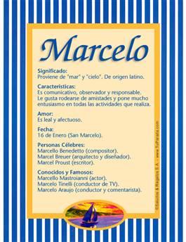 Nombre Marcelo