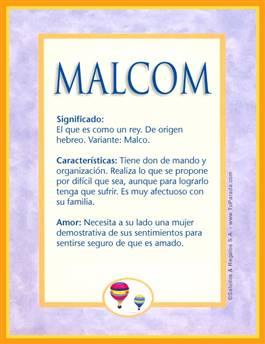 Nombre Malcom