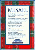 Nombre Misael