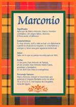 Nombre Marconio