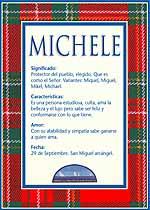Nombre Michele