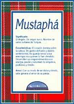 Nombre Mustaphá