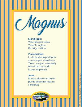 Nombre Magnus