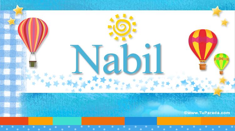 Nabil, imagen de Nabil