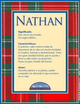 Nombre Nathan