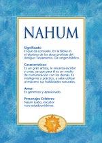 Nombre Nahum
