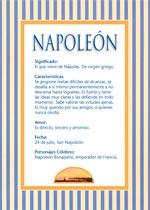 Nombre Napoleón
