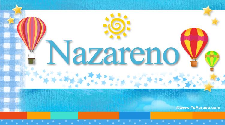 Nazareno, imagen de Nazareno