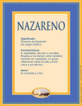 Nombre Nazareno