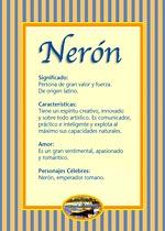 Nombre Nerón
