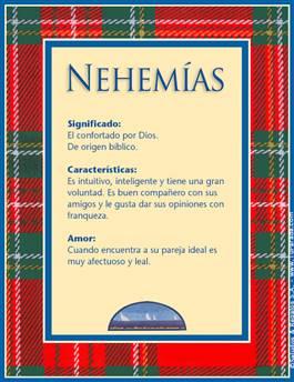 Nombre Nehemías